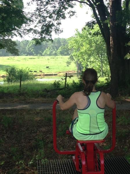 Julie workout